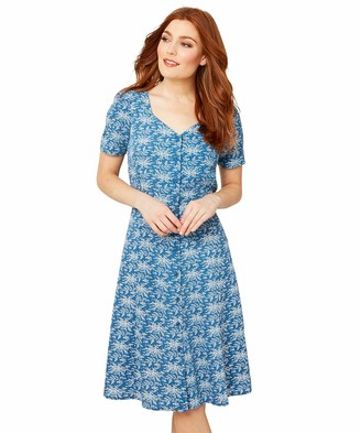 Joe Browns Women's Ditsy Floral Summer Tea Dress Casual