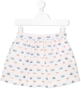 Hucklebones London Gathered Skirt