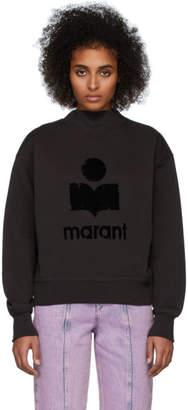 Etoile Isabel Marant Black Moby Inactif Sweatshirt