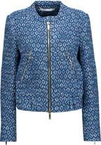 Diane von Furstenberg Buckley metallic cotton-blend tweed jacket