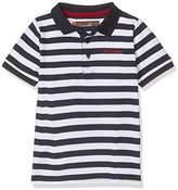 Ben Sherman Boy's Pique Stripe Polo Shirt