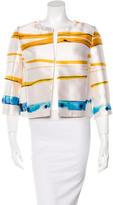 Louis Vuitton Silk Printed Jacket