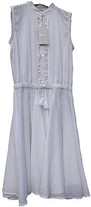 Zadig & Voltaire Spring Summer 2019 White Cotton Dress for Women