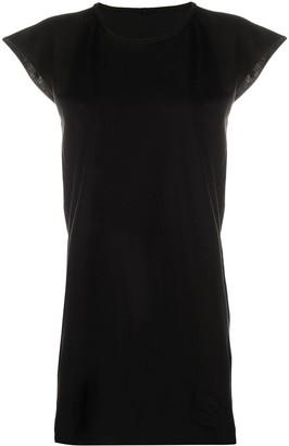 Rick Owens cap-sleeved longline T-shirt