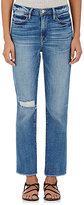 Frame Women's Le High Straight Raw Edge Jeans