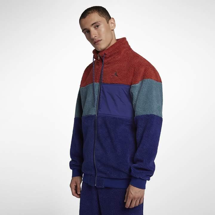 Jordan Men's Full-Zip Jacket Sportswear Sherpa