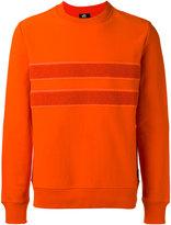 Paul Smith contrast stripe sweatshirt - men - Cotton - M