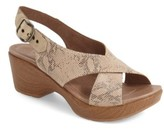 Dansko Women's 'Jacinda' Sandal