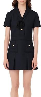 Maje Ranao Mini Sailor Dress