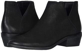Frye Caden Bootie (Black Vintage Leather) Women's Boots