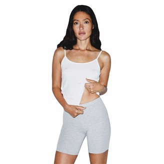 American Apparel Women's Cotton Spandex Bike Short