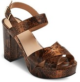Mossimo Women's Harlee Platform Heeled Sandals