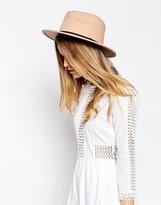 Asos Felt Panama Hat With Braid Braid Trim NEW IMPROVED FIT