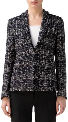 Akris Punto Tweed Blazer