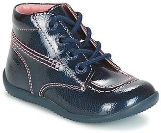 Kickers BILLISTA girls's Mid Boots in Blue