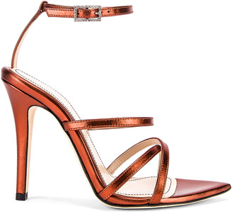 retrofete OS Sandal in Rust | FWRD