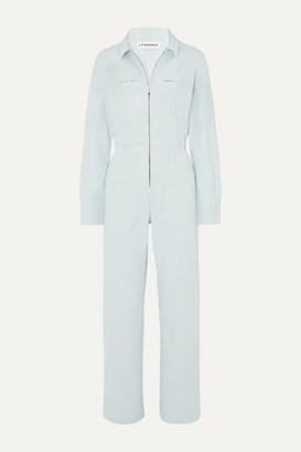 L.F. Markey Danny Stretch-cotton Twill Jumpsuit - Blue