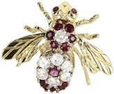 One Kings Lane Vintage Diamond & Ruby Bumble Bee Pin