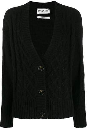Essentiel Antwerp knitted button cardigan