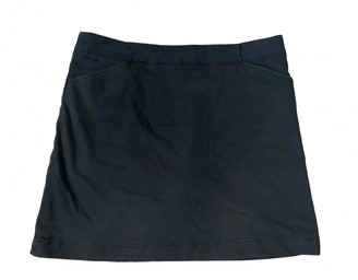 Nike Navy Cotton Skirt for Women