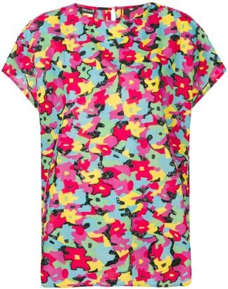 Fendi Pre Owned 1990's puzzle print T-shirt