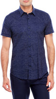 Antony Morato Navy Printed Slim Fit Shirt