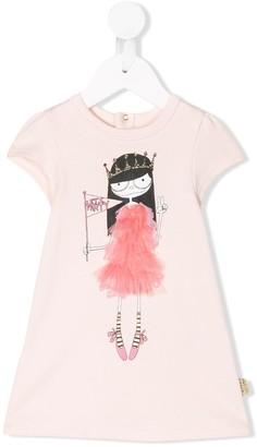 Little Marc Jacobs 'Let's Party' print T-shirt dress