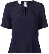 Dondup flared short-sleeve T-shirt