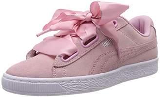 Puma Women's Suede Heart Galaxy WN's Low-Top Sneakers, Grey (Gray Violet Silver)