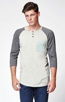On The Byas Javier 3/4 Sleeve Raglan T-Shirt