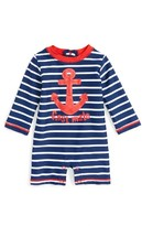 Hatley Infant Boy's Vintage Nautical One-Piece Rashguard Swimsuit