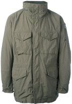 Attachment patch pocket jacket