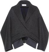 Dice Kayek Cropped Oversize Coat