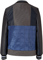 Jonathan Simkhai Utility Tech Jacket in Navy