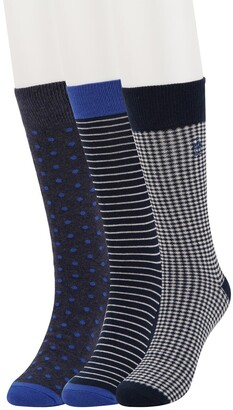 Original Penguin Lewis Gingham Socks - Pack of 3