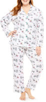 Asstd National Brand Knit Pant Pajama Set