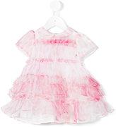 Roberto Cavalli ruffled dress - kids - Cotton/polyester - 9 mth