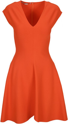 Stella McCartney Deep V-neck Mini Dress