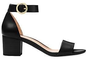 MICHAEL Michael Kors Women's Lena Flex Mid Leather Ankle Strap Sandals
