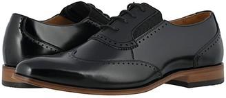 Stacy Adams Sullivan Wing Tip Oxford (Black) Men's Shoes