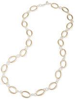 Lauren Ralph Lauren Two-Tone Large Link Long Statement Necklace