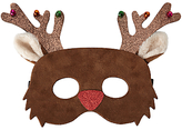 John Lewis Children's Christmas Reindeer Mask, Brown
