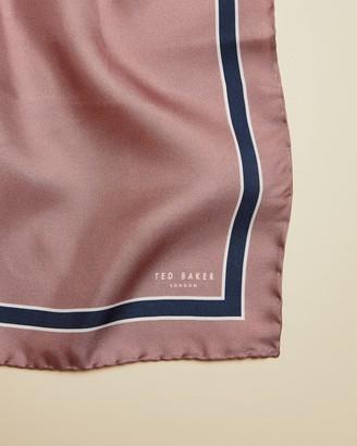 Ted Baker Plain Silk Pocket Square