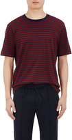 Vince Men's Striped Cotton T-Shirt