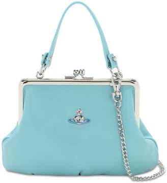 Vivienne Westwood Emma Soft Leather Top Handle Bag