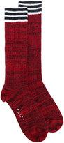 Marni striped socks - women - Wool/Polyamide - S