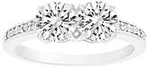 Bliss Cubic Zirconia & Sterling Silver Together Forever Ring