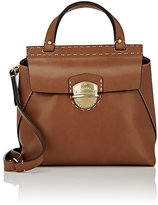 Ghurka Women's Kingston Small Satchel-BROWN
