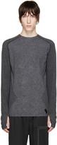 Y-3 Sport Grey Merino Jersey T-Shirt