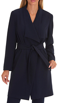 Betty Barclay Unlined Coat, Dark Blue/Blue